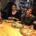 Spelt Pizza Demo at Holistic Health & Wellness Show