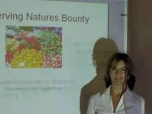 Chef Laura teaches 'Preserving Natures Bounty'