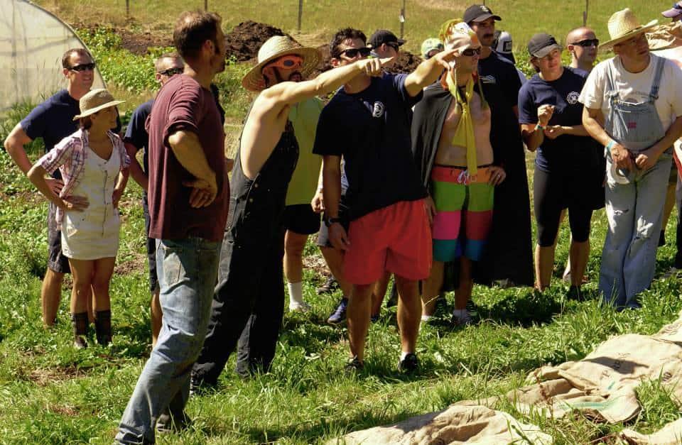 Madrona Farm Chef Survival Challenge 2014